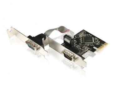 Placa PCI Express Low Profile - 2 portas Seriais Comtac - 9134