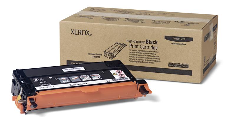 Toner Xerox Black - 6180
