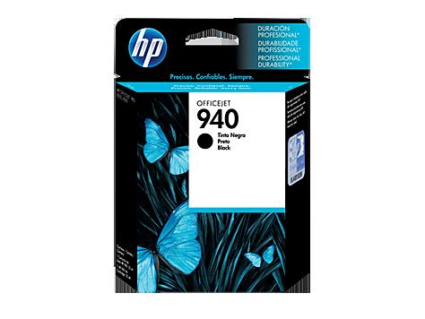 Cartucho HP 940 Preto Original (C4902AB) Para HP 8500A, 8500, 8000