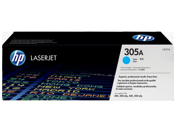 Toner HP 305A Azul - CE411A