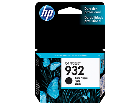 Cartucho HP 932 preto Original (CN057AL) Para HP Officejet 7110