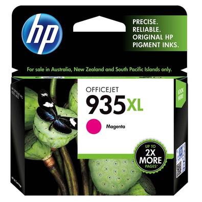 Cartucho HP 935XL Magenta Original (C2P25AB) Para HP Officejet 6830, 6230
