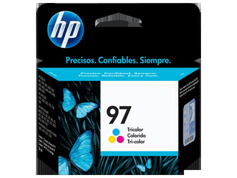 Cartucho HP 97 Colorido Original (C9363WB) Para HP