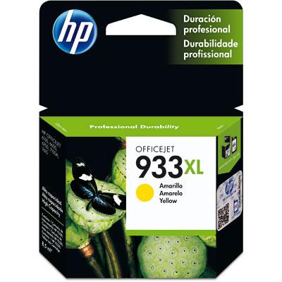Cartucho HP 933XL Amarelo Original (CN056AL) Para HP Officejet 7110