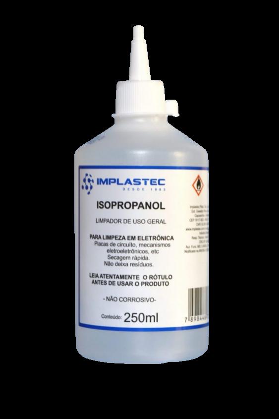 Álcool Isopropílico Isopropanol 99,8% - 250ml