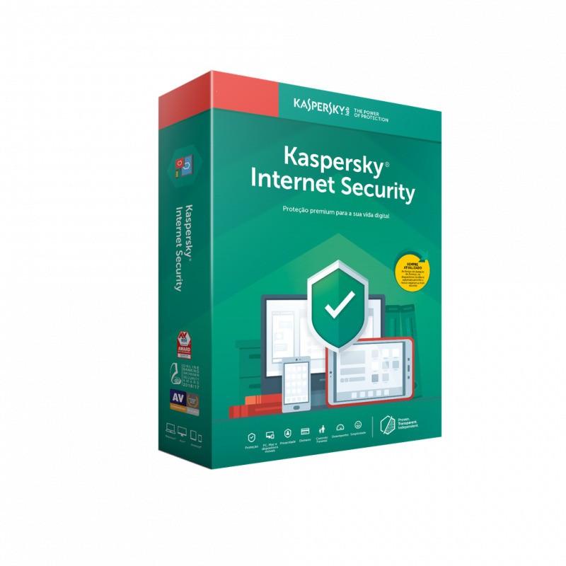 Antivírus Kaspersky Internet Security, 01 Dispositivo - KL1939K5AFS-20