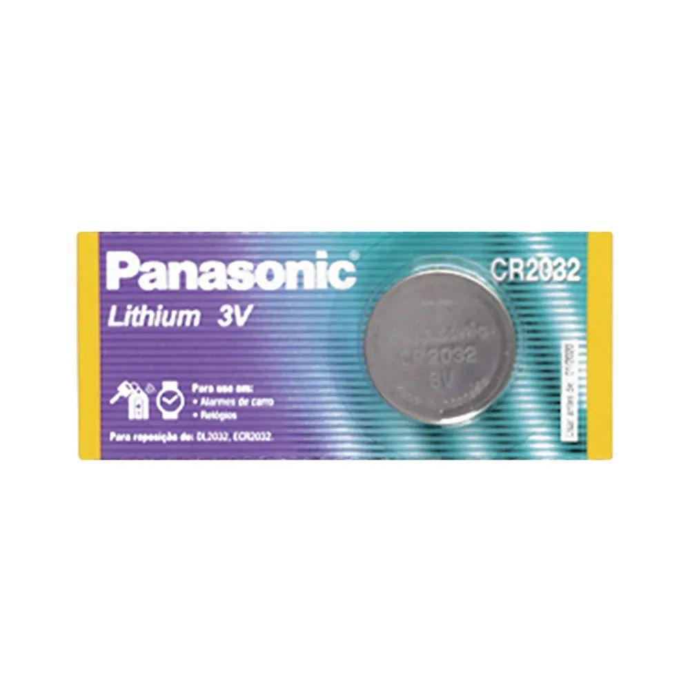 Bateria Panasonic CR2032 3V Lithium