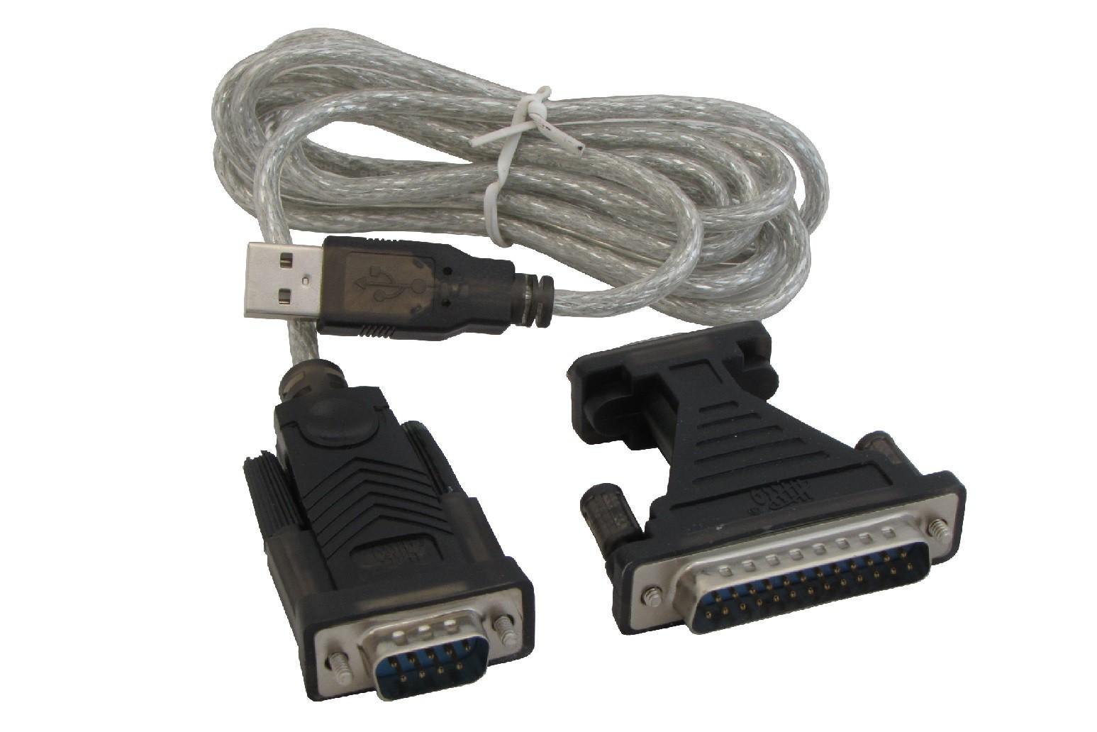 Cabo Conversor Hitto USB para Serial - WB-U/RS232B