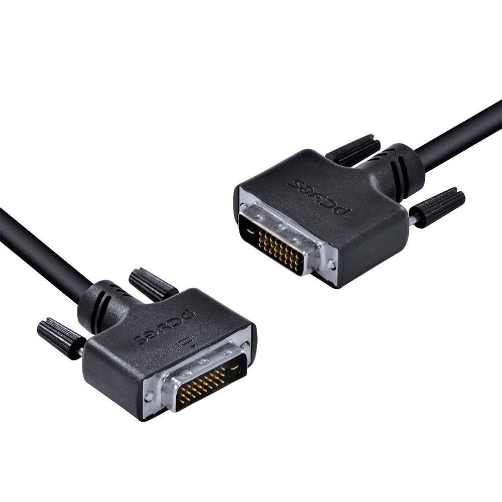Cabo DVI-D 24+1 x DVI-D 24+1 Dual Link, PCYes, 2 metros - PDDL-2
