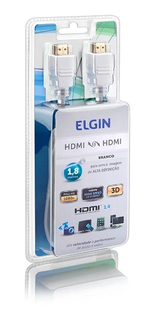 Cabo Hdmi Elgin, 1,8 Metros, Alta Definição, 4k - M01