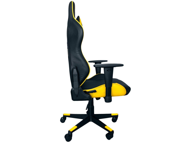 Cadeira Gamer XT Racer, Reclinável, Preto e Amarelo, Viking Series - XTR-011
