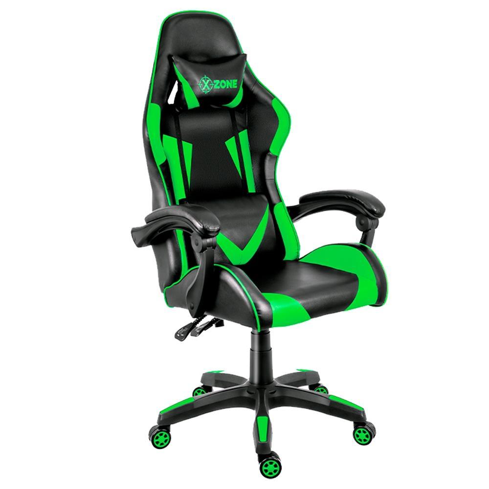 Cadeira Gamer XZone Premium, Black/Green - CGR-01