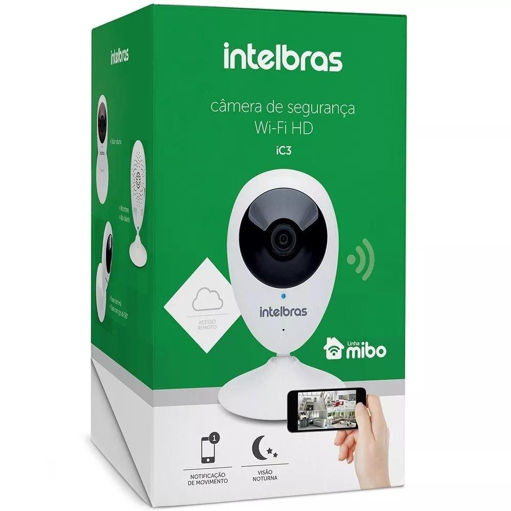 Câmera IP Wi-Fi HD IC3 Intelbras
