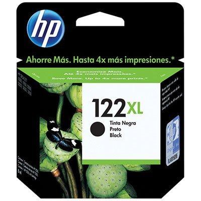 Cartucho HP 122XL preto Original (CH563HB) Para HP DeskJet 1000, 2050, 3050, 2000