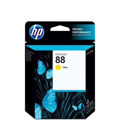 Cartucho HP 88 Original (C9388AL) Yellow, K550, K8600, K5400, L7590