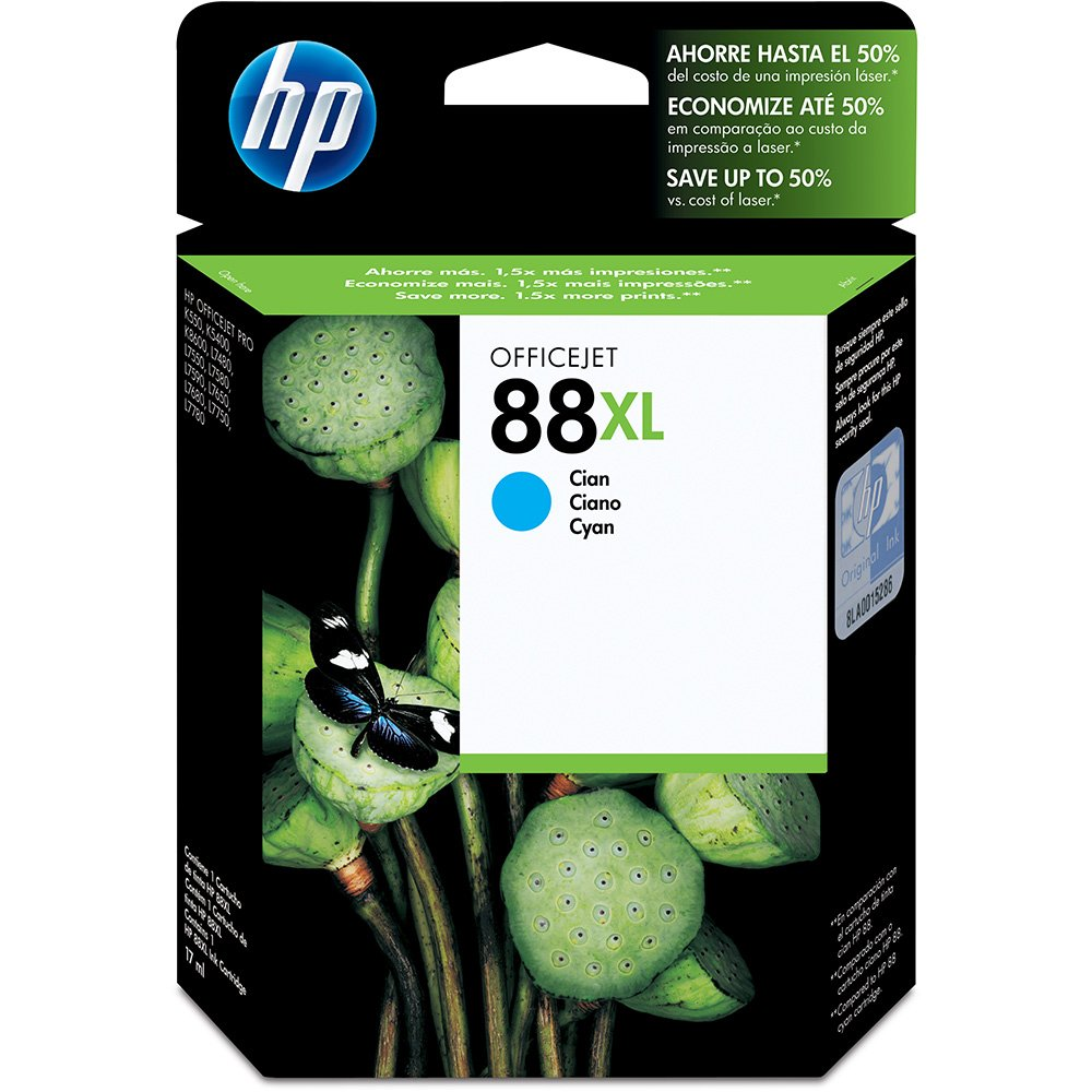 Cartucho HP 88xl ciano 22,5ml C9391AL HP