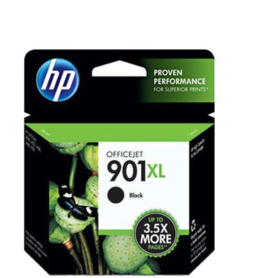 Cartucho HP 901XL Preto Original (CC654AB) Para HP Officejet J4660, J4524, J4624, 4500