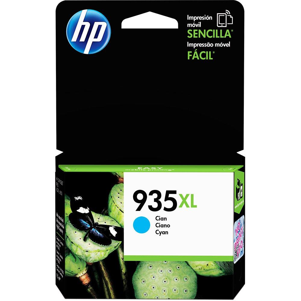 Cartucho HP 935XL Ciano Original (C2P24AL) Para HP Officejet 6830, 6230