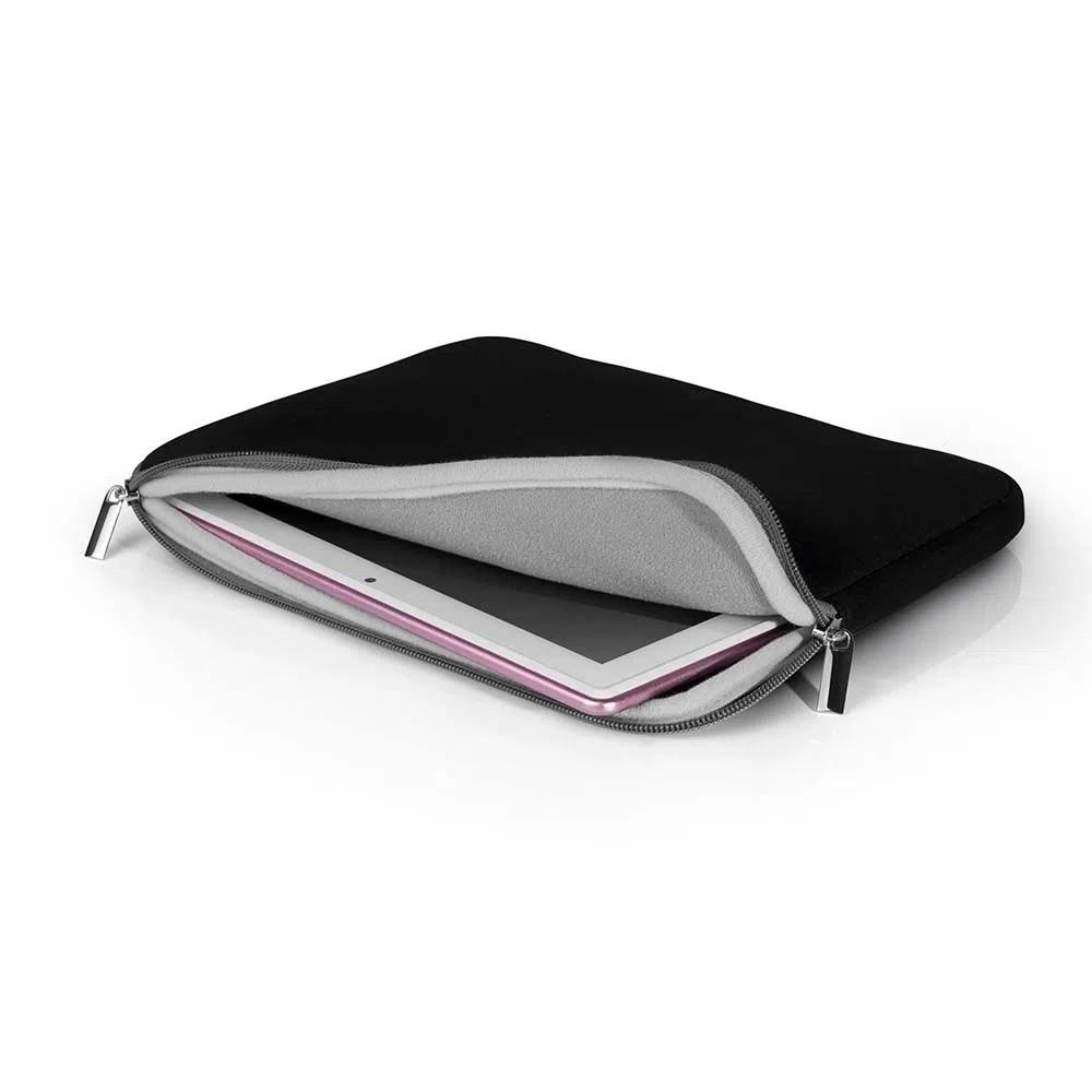 """Case Multilaser Pocket Para Notebook Até 14"""" Pol. Preta - BO207"""