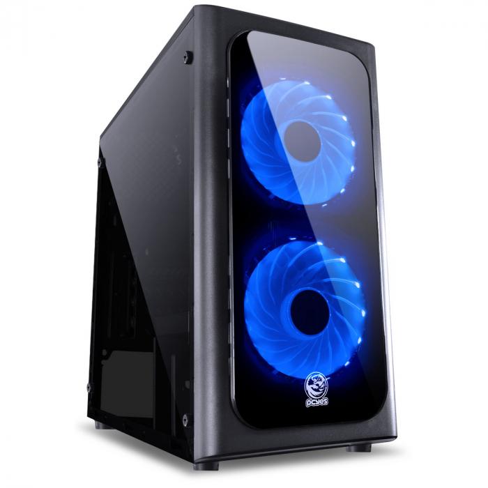 Computador Gamer Free Fire, Athlon 3000G 3.5Ghz , Placa de Video GT-730 4GB DDR3, DDR4 8GB, HD 1TB