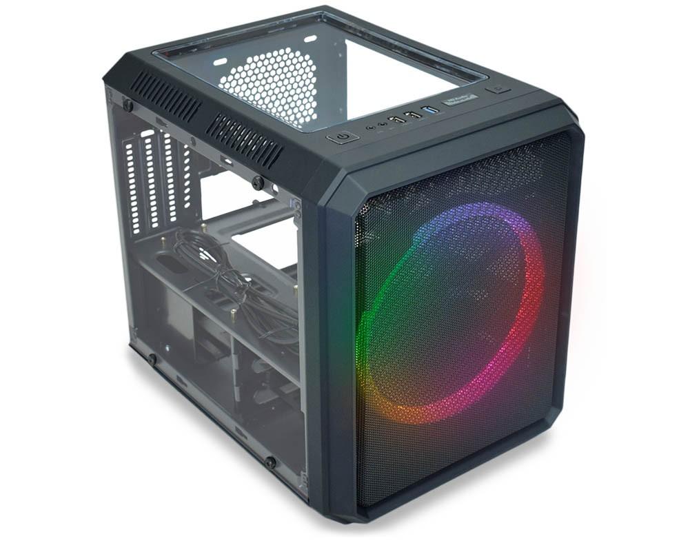 Computador Gamer, Intel 10º geração Core i3-10100F, Placa de Vídeo RX 550 4GB, 8GB DDR4, HD 1TB