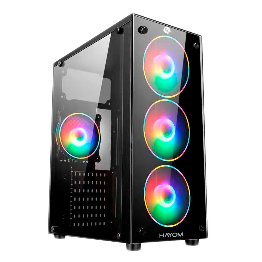 Computador Gamer, Intel 10º geração Core i3-10100F, Placa de Vídeo RX 550 4GB, 8GB DDR4, SSD 240GB