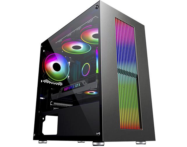 Computador Gamer, Intel 10º geração Core i5-10400F, Placa de Vídeo GTX-1650 4GB, 8GB DDR4, HD 1TB