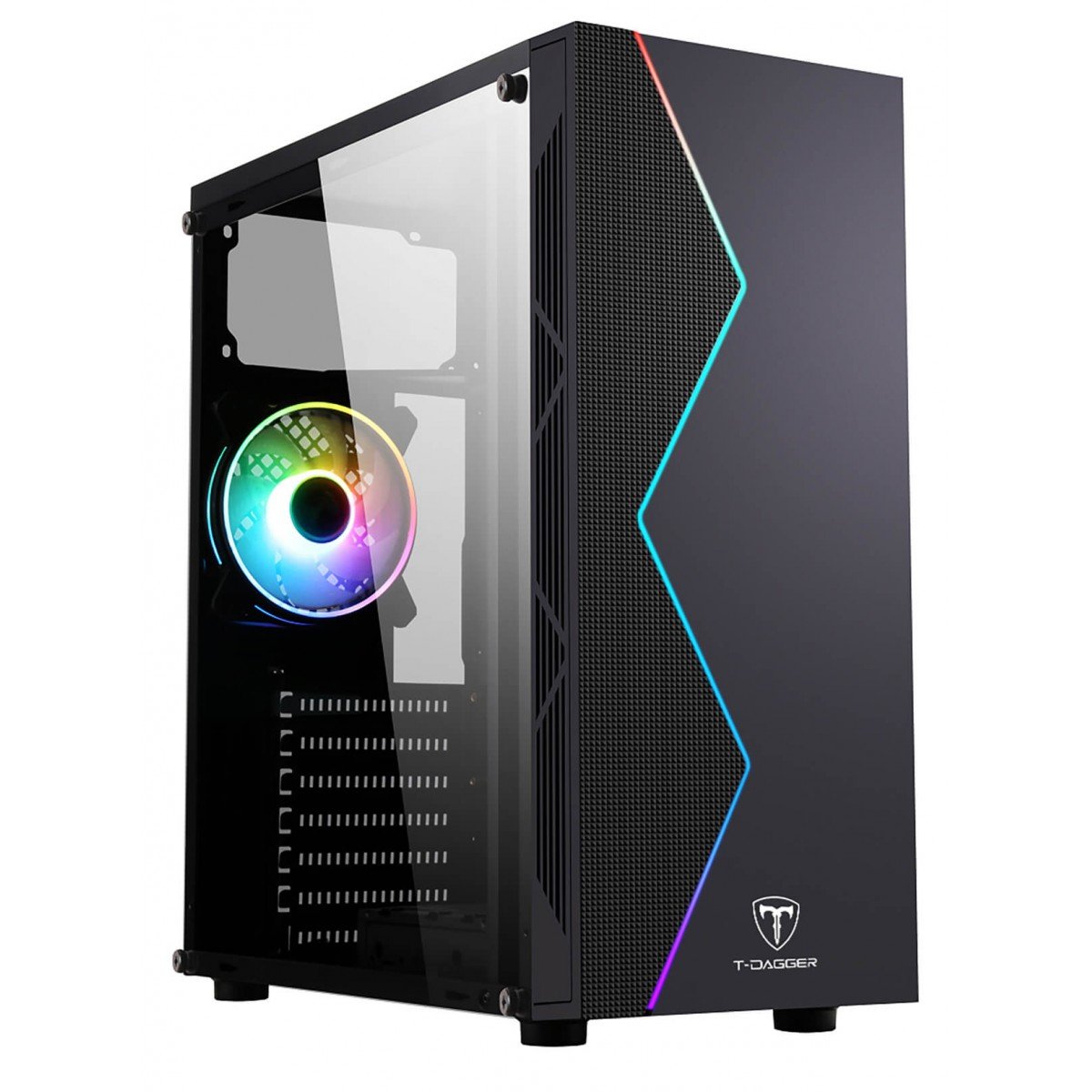 Computador Gamer, Intel Core i3-9100F, Placa de Vídeo GTX-1050TI 4GB, 8GB DDR4, SSD 120GB