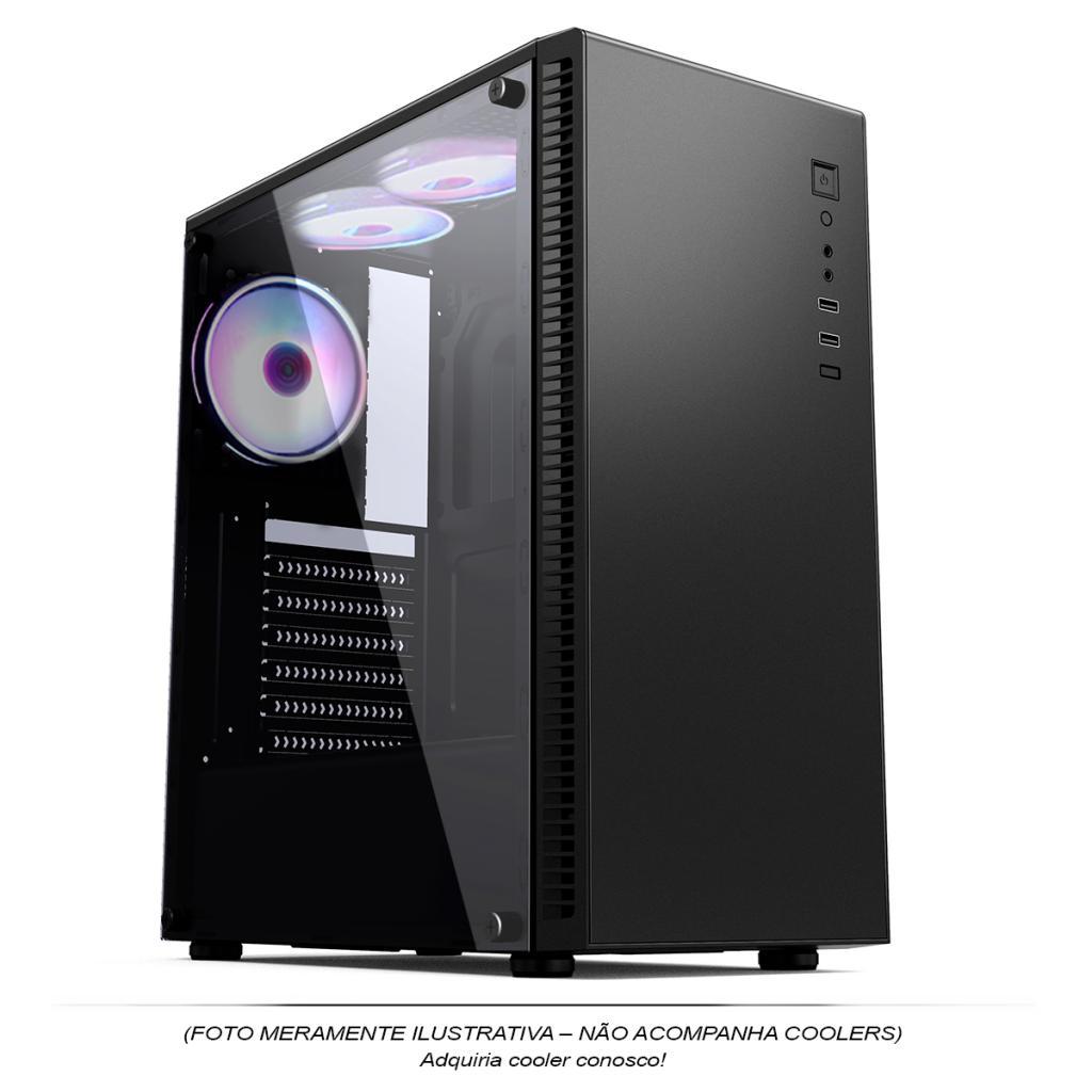 Computador Gamer, Intel Core i3-9100F, Placa de Vídeo GTX-1650 4GB, 8GB DDR4, SSD 256GB