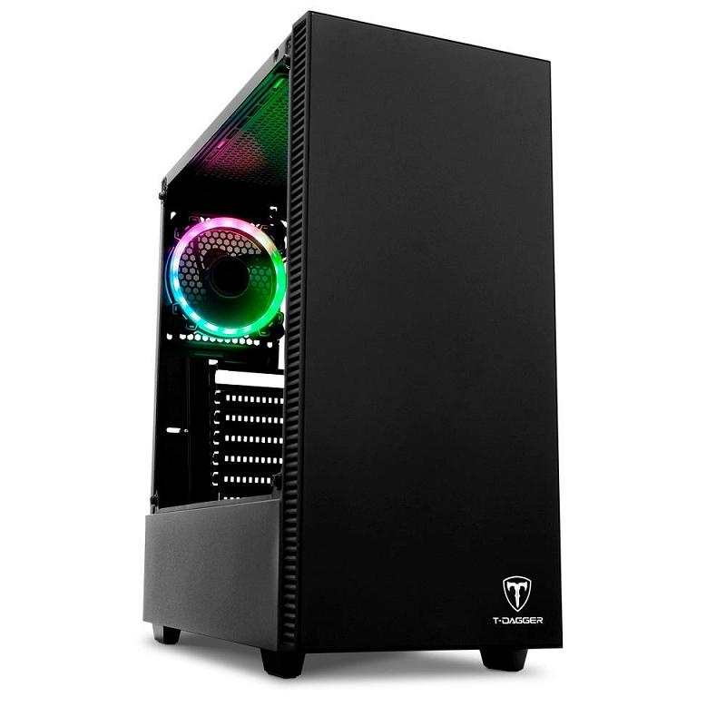 Computador Gamer, Intel Core i3-9100F, Placa de Vídeo RX 550 4GB, 8GB DDR4, SSD 256GB