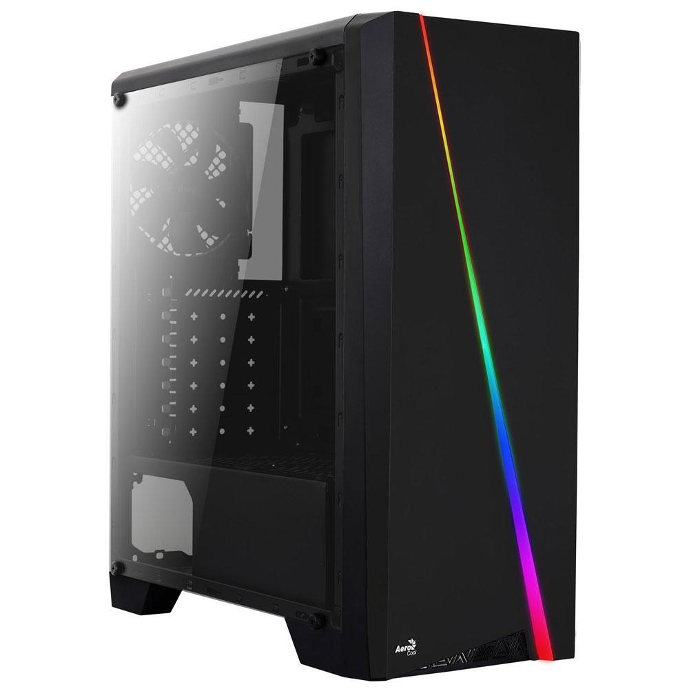 Computador Gamer, Intel Core i3-9100F, Placa de Vídeo RX 550 4GB, 8GB DDR4, SSD 240GB