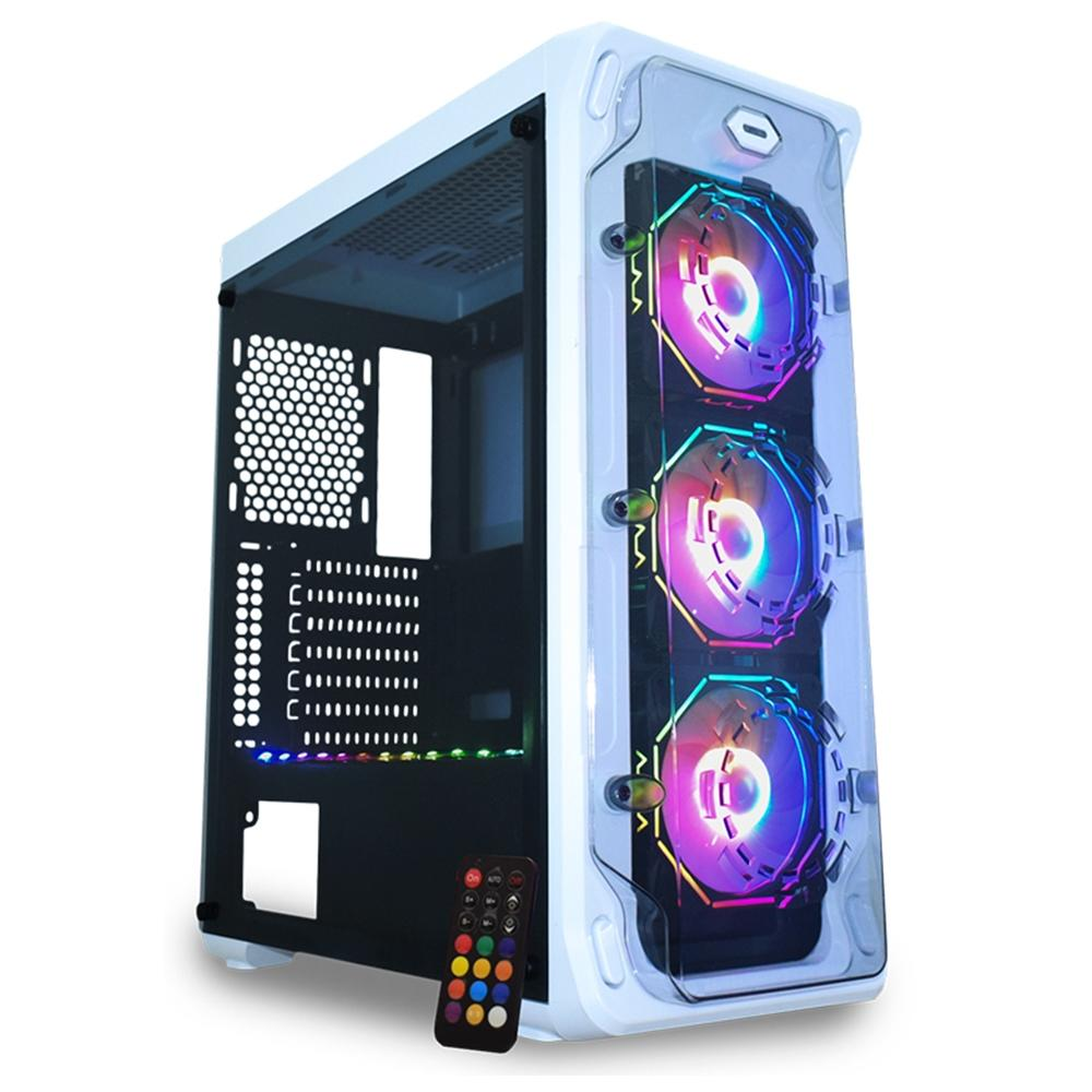 Computador Gamer, Intel Core i5-9400F, Placa de Vídeo RTX-2060 6GB DDR5, 16GB DDR4, SSD 256GB