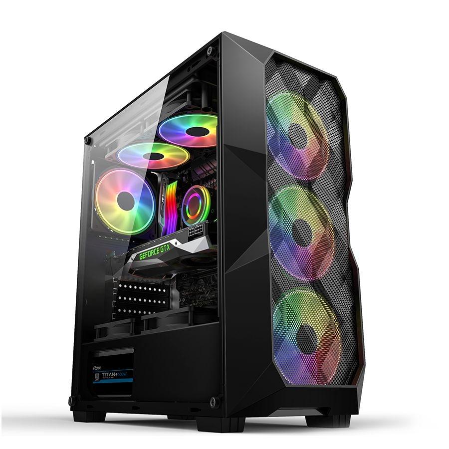 Computador Gamer, Intel Core i5-9400F, Placa de Vídeo RX 550 4GB DDR5, 8GB DDR4, HD 1TB