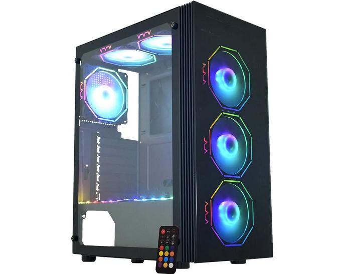 Computador Gamer, Ryzen 5 3500 3.6Ghz , Placa de VIdeo GTX-1650 4GB DDR6, DDR4 8GB HYPERX RGB, SSD 480GB