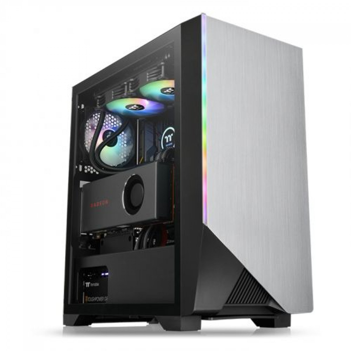 Computador Gamer, RYZEN 5 3600X 3.8Ghz, Placas de Vídeo RX 580 8GB DDR5, 8GB DDR4, HD 1TB