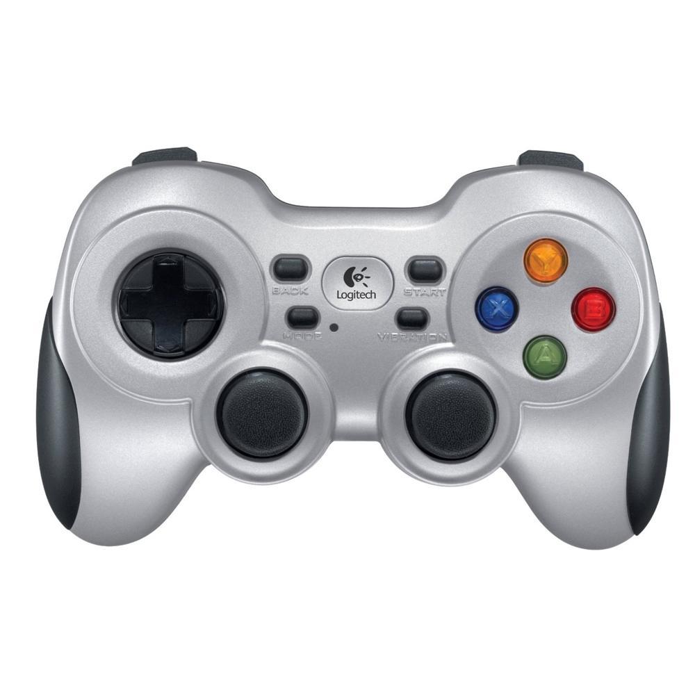 Controle de Jogos sem fio Logitech F710 para PC e TV - 940-000117