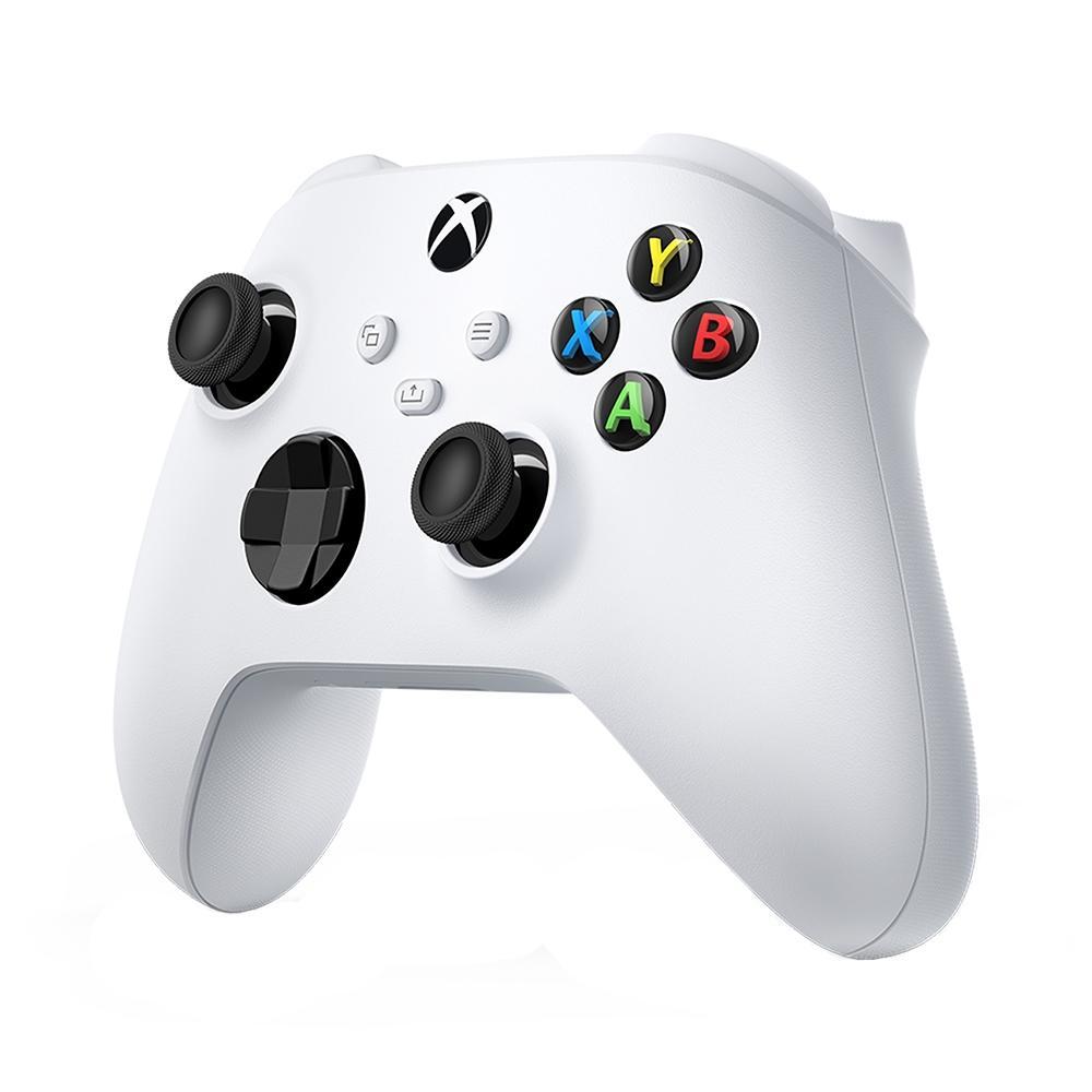 Controle Sem Fio Microsoft, Para Xbox Series X, S e Xbox One, Branco