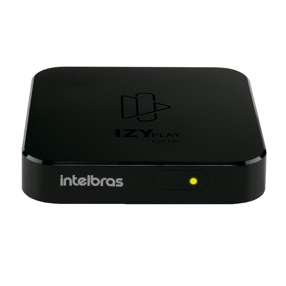 Conversor Digital Smart Box Android TV IZY Play, Preto