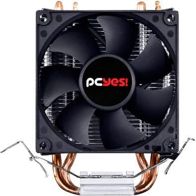 Cooler para Processador PCYes, Zero K Z1, 80mm, sem LED, AMD/Intel - ACZK180