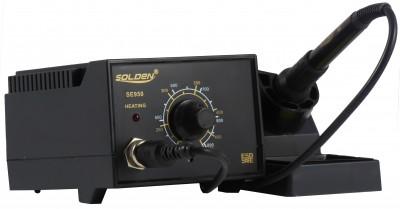 Estação de Solda ESD Analógica, Temperatura Ajustável 200 ~480 ºC, 60W - SE950-220V