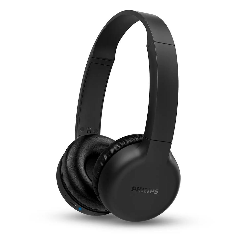 Fone de Ouvido Sem Fio Philips, Bluetooth 5.1, Preto - TAH1205BK/00