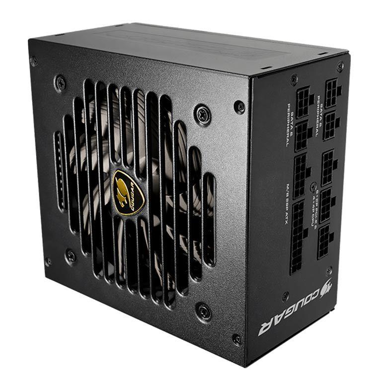 Fonte Cougar GEX750 750W, 80 Plus Gold, PFC Ativo, Full Modular