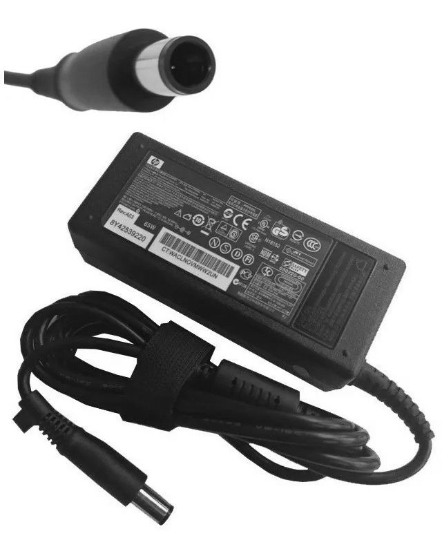 Fonte para Notebook HP, 18.5v, 3.5a, 65w, Plug 7.4mm X 5.5mm - ADP-65SB-BB