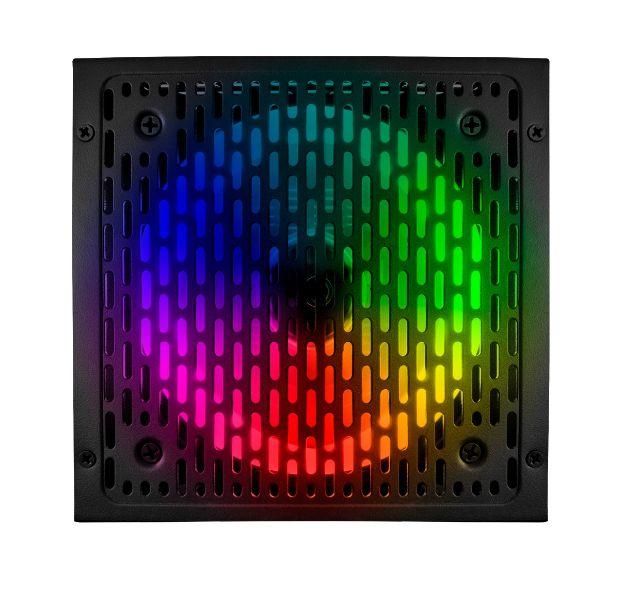 Fonte Rgb Brx Rainbow 1000W 80 Plus Bivolt Automática Pfc Ativo