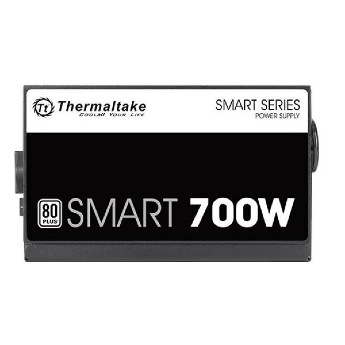 Fonte Thermaltake Smart Series 700W PS-SPD-0700P PFC Ativo Cabos Flat
