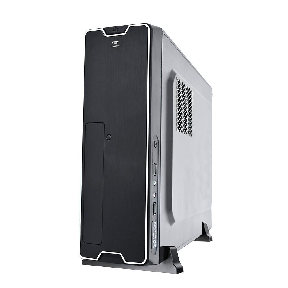 Gabinete Desktop DT-150BK com fonte PS-200SFX C3Tech