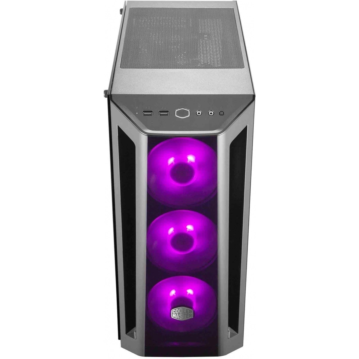Gabinete Gamer Cooler Master Masterbox MB520 RGB, Mid Tower, Black, Sem Fonte, Com 4 Fans - MCB-B520-KGNN-RGB