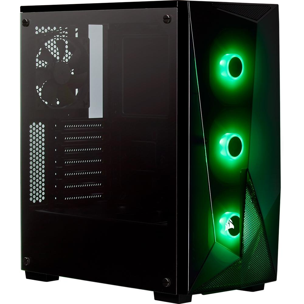 Gabinete Gamer Corsair Carbide Series Spec Delta RGB, Mid-Tower, 3 Fans, Vidro Temperado, Preto - CC-9011166-WW