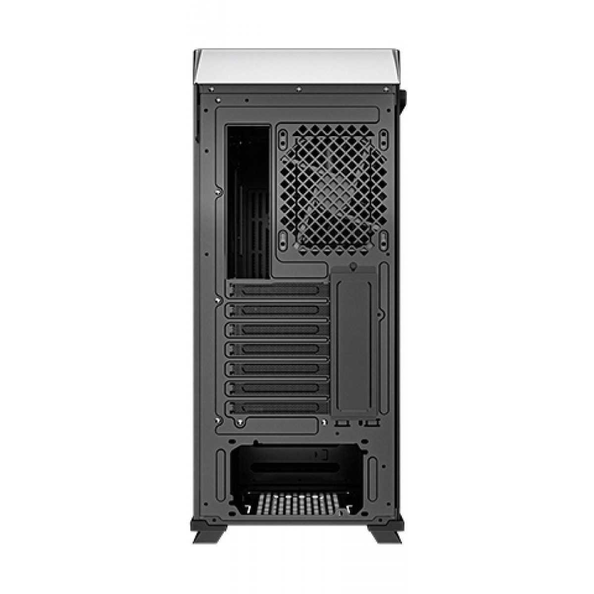 Gabinete Gamer DeepCool, CL500, Mid Tower, Vidro Temperado, Black, Sem Fan - R-CL500-BKNMA0N-C-1