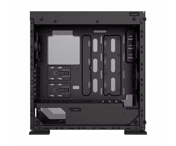 Gabinete Gamer Gamemax Onyx Ii Preto Laterais E Frontal De Vidro Fan Rgb, M910